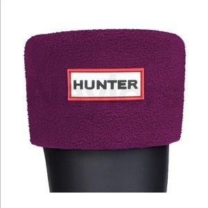 Hunter Fleece Welly Boot Socks (Short)